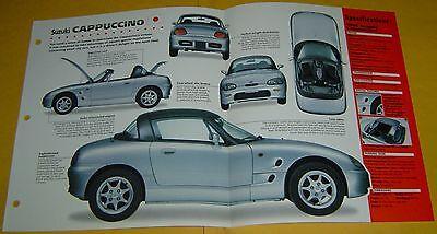 1996 Suzuki Cappuccino City Car 3 Cylinder 658cc MPEFI IMP Info/Specs/photo 15x9