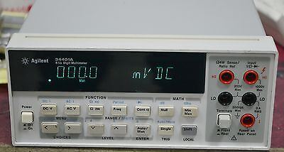 Agilent 34401a Digital Multimeter 6 Digit Multimeter