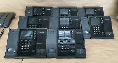 Lot Of 7 Polycom 1849c-cx600 Display Ip Phones