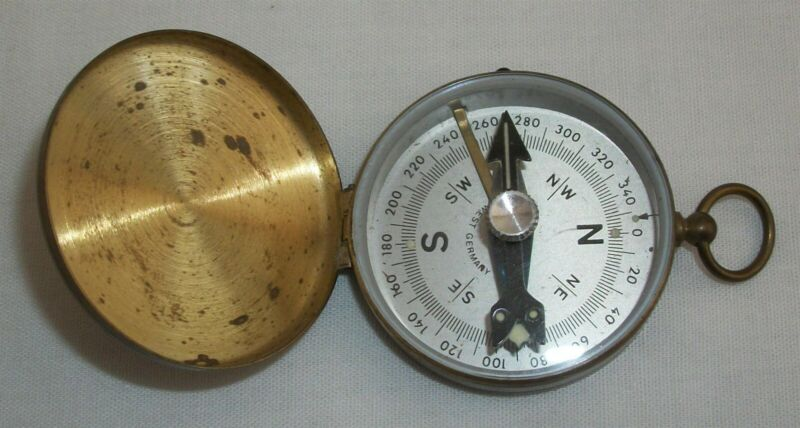 Vintage Directional Field Compass West Germany