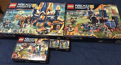 SEALED LEGO NEXO KNIGHTS 70357 70317 70324 5004390 Lot