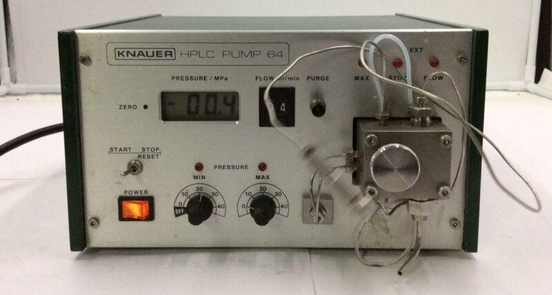 Knauer Model:HPLC-Pump 64