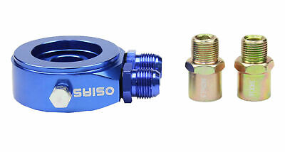 BLUE M20 x 1.5 Oil Filter Sandwich Plate Adapter 1/8 NPT Oil Cooler Kit
