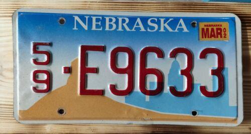 USA Nummernschild/Kennzeichen/license plate/US car/Harley/Deco * Nebraska *