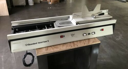 Standard Bindfast 5 Padding & Perfect Binding Machine