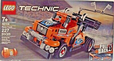 Lego Technic 42104 TWO in ONE Race Truck / Indy-Inspo Racer NEW