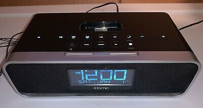 iHome IA91 Alarm Clock Speaker Radio 30-pin Docking Station (iPod iPhone 30-pin)