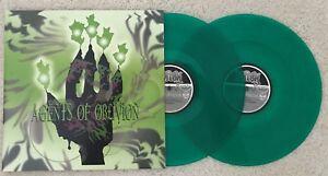 AGENTS OF OBLIVION LP - CLEAR GREEN COLOR VINYL - Acid Bath - Dax Riggs