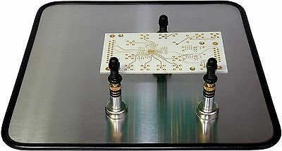 Flip-flop Pcb Holder For Any Pcb Shape From 20x20mm To 175x250 Mm.