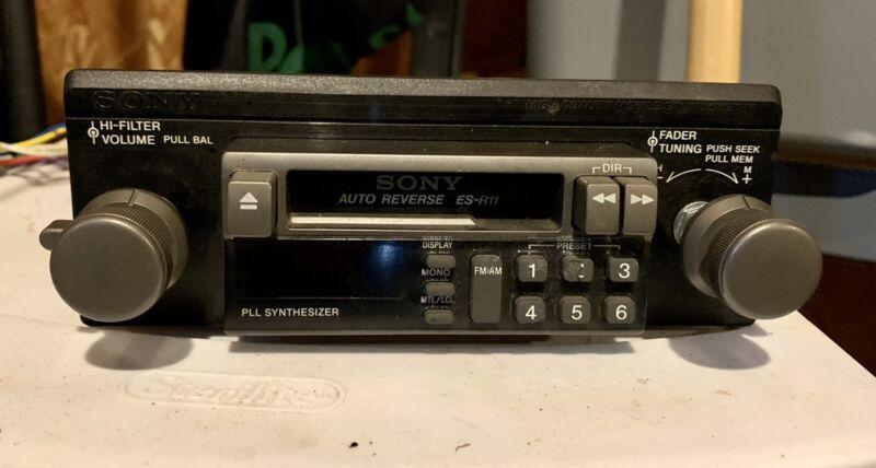Original 1981 Corvette Stereo Sony Cassette