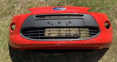 Ford KA Mk2 2009-2015 Complete Front Bumper Flame Red