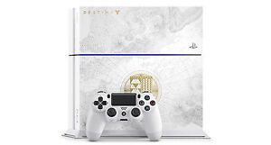PS4 (Destiny edition) with 2 controllers,