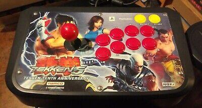Sony Playstation 2 Namco Tekken 5 Tenth Anniversary Hori Joystick PS2