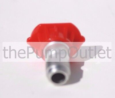 0 Degree Red Pressure Washer Tip 3.5 Orfice By Mi-t-m Made In America