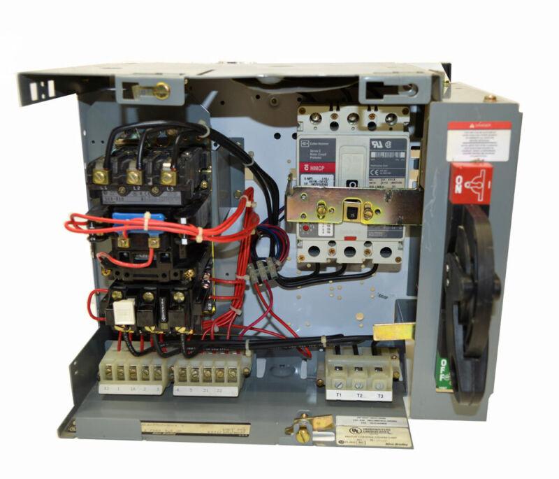 Allen Bradley 2113B-BDBD-9-17 Motor Control Center Bucket Size:1 3Hp 15A-Breaker