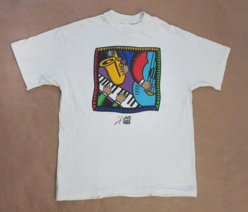 JVC Jazz Festival 1994 - Promo T-shirt - size L - UNWORN / NEW!