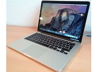 Apple MacBook Pro with Retina Display 13-inch (Intel i5 2.7 GHz 8 GB RAM 256 GB SSD)