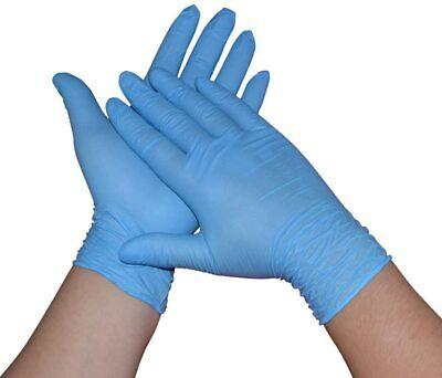 Caja de 100 guantes de Nitrilo color azul Tallas XL- Alta protección
