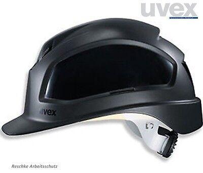 UVEX Pheos B - WR Bauhelm Schutzhelm Helm gute Belüftung Drehradsystem schwarz