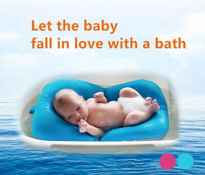 Baby Bath Tub Pad Shower Nets Newborn Kids Bath Seat Infant Bathtub Bath Pads