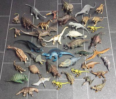 40x Schleich Tiere Dinosaurier Dino Urzeittiere Sammlung