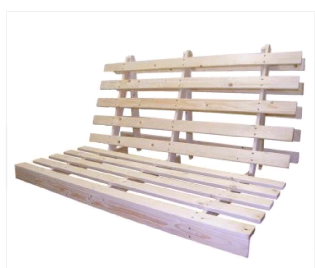 Double Futon Bed Base Only