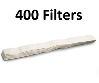 Omega Juicer Filters for Models 500, 1000, and 9000, 400 Pack