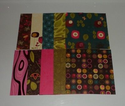 Cardstock, 6x6, Whimsical, Wood, Floral, Leaves, Polka Dot (Polka Dot Cardstock)