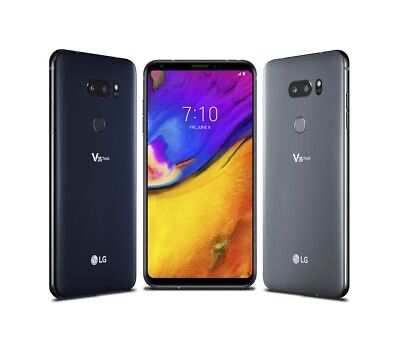 New LG V35 ThinQ 64GB Black AT&T Smartphone 6in Screen V350AWM***