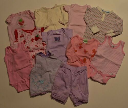 Baby Clothes Lot - Girls (3,6,3-9 Months)