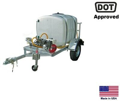 Sprayer Commercial - Trailer Mounted - 15 Gpm - 150 Gallon Tank - Highway Ready
