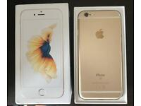 IPHONE 6S GOLD AS NEW IN BOX