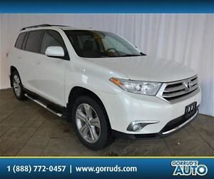 2013 Toyota Highlander AWD/SPORT/LEATHER/MOONROOF/4 NEW TIRES