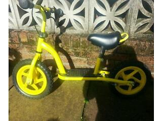 Immaculate condition balance bike