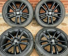 Vauxhall Corsa D SRI Black Edition 17 inch Alloy Wheels 4 x 100 Genuine GM 215/45 r17 w TPMS