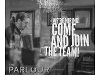 Bar staff required at The Parlour West Bridgford