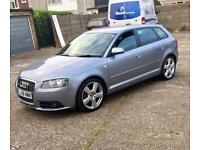 Audi a3 sline 2.0tdi 5 door sportback not a4,golf, gti, tdi,gt, excellent condition inside and out.