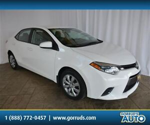 2016 Toyota Corolla LE/HEATED SEATS/BLUETOOTH/CAMERA/HEATED MIRR