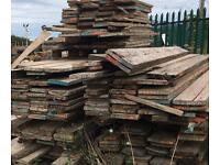 WOODEN SCAFFOLDING BOARDS Used rustic scaffolding boards Free Delivery Locally