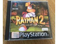 PlayStation 1 rayman 2 game. Ps1