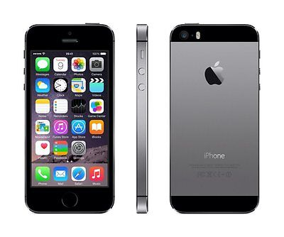 New  Apple iPhone 5s 32 GB Grey Gray GSM Unlocked for ATT T-Mobile