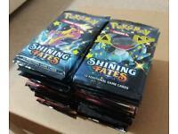 Pokemon Shining fates sealed booster packs