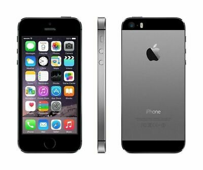 Apple iPhone 5S Factory Unlocked GSM SmartPhone 16GB Space Gray Very Good