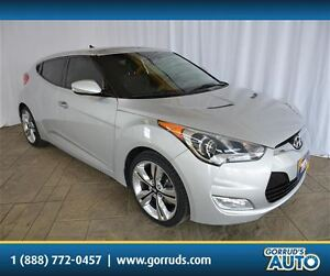2014 Hyundai Veloster TECH PKG/NAV/SUNROOF/LEATHER/CLOTH SEATS
