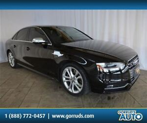 2013 Audi S4 3.0T/QUATTRO/HEATED LEATHER/SUNROOF/NEW TIRES