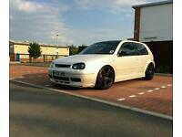 vw golf, remapped, modified, gt tdi 190bhp! pearl essence white(vw,audi,bmw?