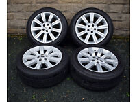 """20"""" Genuine Range Rover Sport Stormer alloy wheels tyres 5x120 Discovery 3 4 T5"""