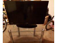 HD TV AND GLASS /CHROME UNIT