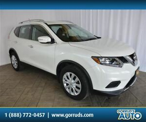 2015 Nissan Rogue S/FWD/CAMERA/CRUISE/HEATED MIRRORS/LOW KMS