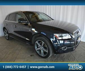 2015 Audi Q5 AWD/S LINE/CAMERA/PANO ROOF/NAV/LEATHER/BLUETOOTH